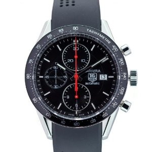 TAG HeuerMen's CV2014.FT6014 Carrera Automatic Chronograph Watch